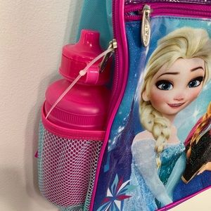 Disney Accessories - New Backpack Disney Frozen Anna And Elsa Graphic